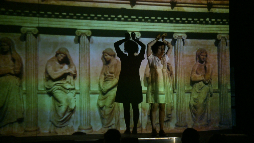 The Body Archive - The Encyclopedia of Tragic Attitudes, part II: the feminine figures